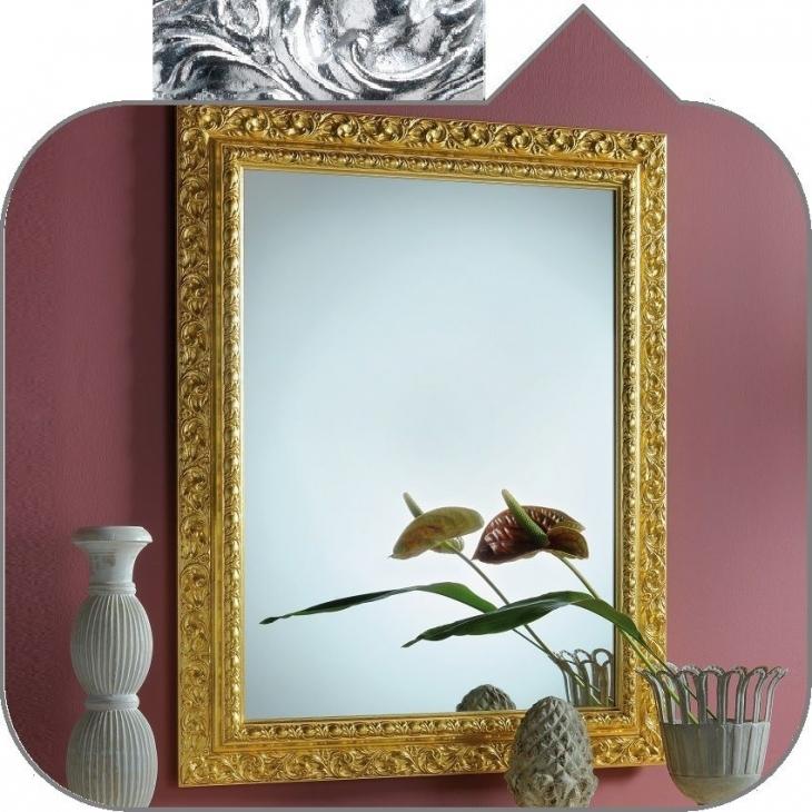 Universalshop online it barocca stilhaus specchio su - Specchio cornice nera barocca ...