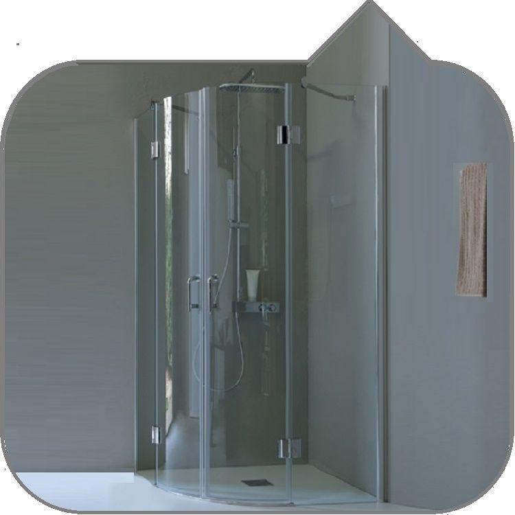 UNIVERSALSHOP-ONLINE.IT - Box doccia tamanaco TB61 semicircolare R55 ...
