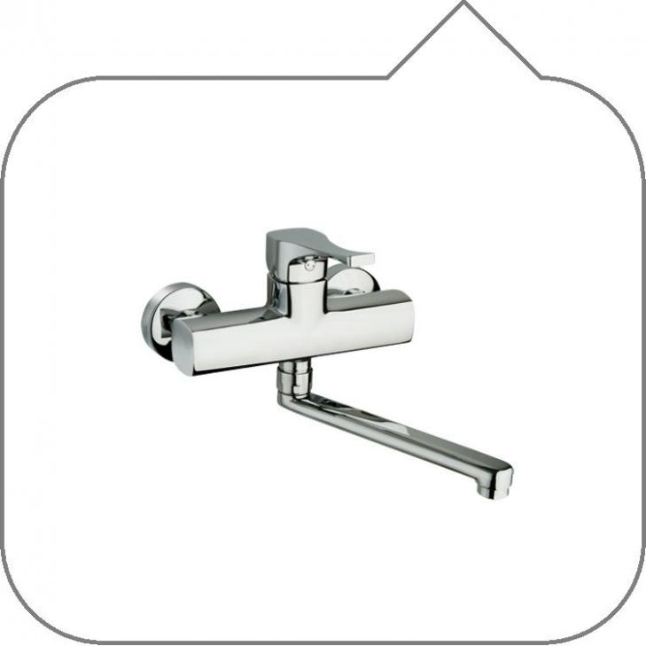 Universalshop online it nemo resp rubinetto miscelatore - Rubinetto a muro cucina ...