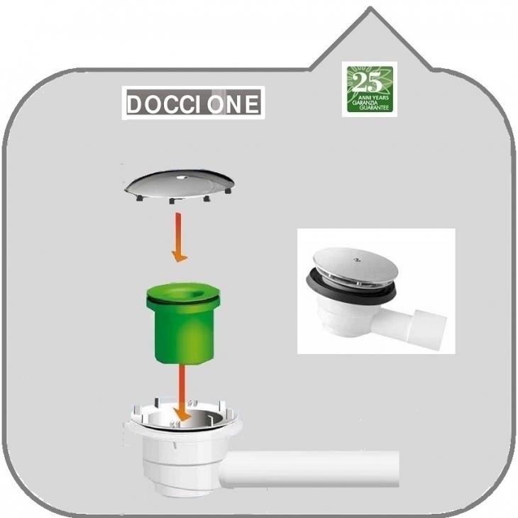 Universalshop online it prolunga a collocigno per wc con - Doccione per doccia ...